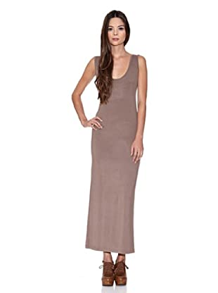 Rare London Vestido Tubo Plain Maxi