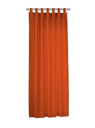 Euromoda Lencería Cortina Trabillas  Loneta (Naranja)