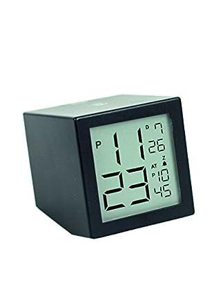 Lexon Prism LCD Clock, Black
