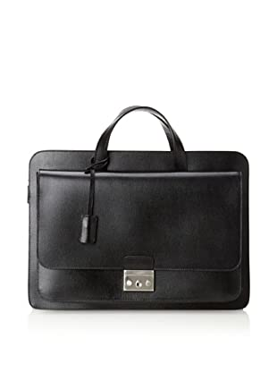 Calvin Klein Collection Men's Briefcase (Black)