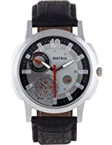 Matrix Analog Grey Dial Men's Watch - WCH-CH9