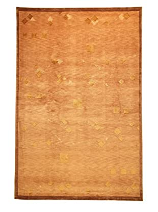 Roubini Tibetan Super Fine Collection Hand-Knotted Rug, Multi, 6' x 9'