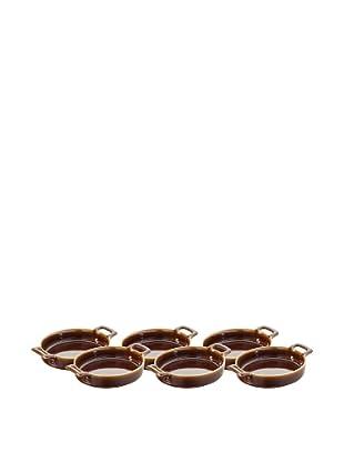 REVOL Set of 6 Belle Cuisine Crème Brulee Dishes
