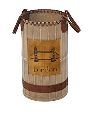 London Umbrella Stand, Tan/Brown
