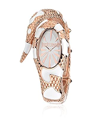 Just Cavalli Orologio al Quarzo Woman Poison Oro Rosa/Bianco 21 mm