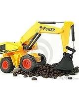 WIRE REMOTE CONTROL JCB CONSTRUCTION SHOVEL LOADER EXCAVATOR TRUCK TOY