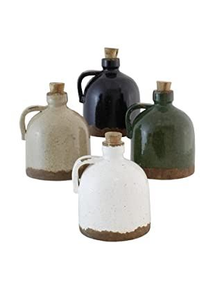 The Import Collection Set of 4 Colored Piccolo Jug