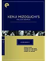 Eclipse Series 13: Kenji Mizoguchi's Fallen Women (Osaka Elegy / Sisters of the Gion / Women of the Night / Street of Shame) (The Criterion Collection)