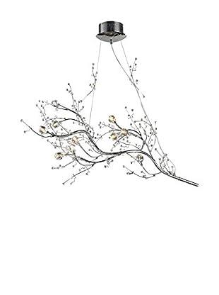 Artistic Lighting Viviana Collection 10-Light Horizontal Chandelier, Polished Chrome
