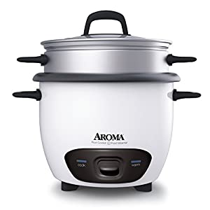 Aroma 14-Cup (Cooked) Rice Cooker and Food Steamer