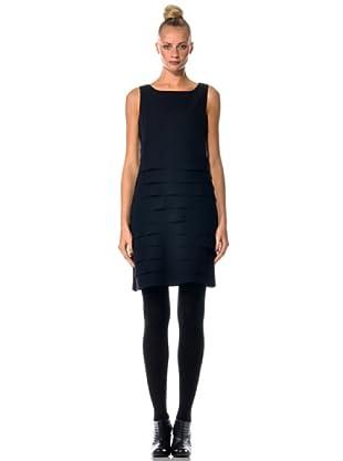 Eccentrica Vestido Volantes (negro)