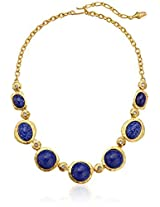 Kenneth Jay Lane Gold-Plated Crystal And Epoxy Necklace - 16