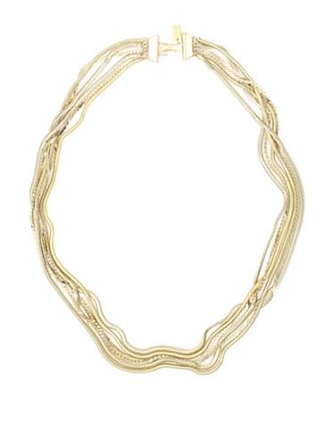 Tuleste Market Snake Multi-Strand Necklace, Gold