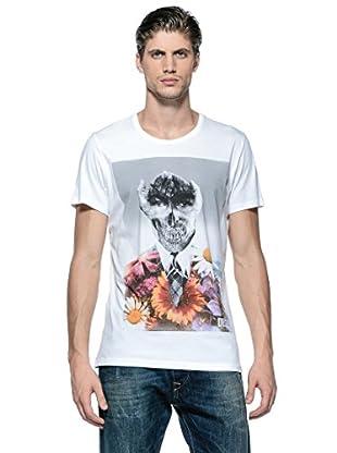 Diesel Camiseta T-Handskull (Blanco)