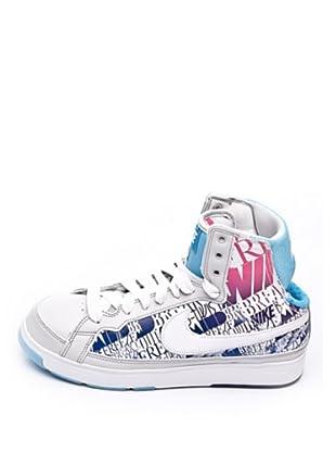 Nike Zapatillas Air Troupe (Gris / Azul / Rosa)