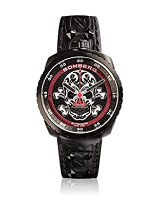 Bomberg Uhr mit schweizer Quarzuhrwerk Man Bolt68 Skull Badass 45 mm