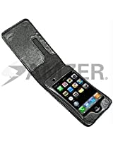 Amzer 80580 Flip Lid Executive Case ? Black for iPod Touch