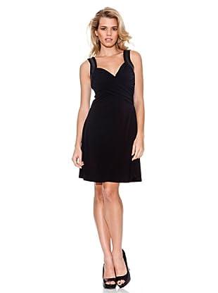 Guess Vestido Apliques (Negro)
