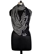 Inditouch GAME PRINT Scarf BLACK