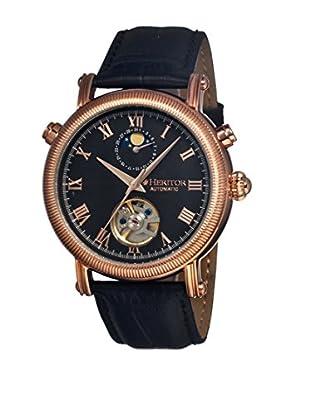 Heritor Automatic Uhr Kornberg Herhr1606 schwarz 48  mm