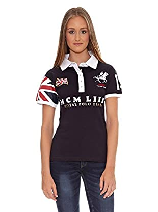 Geographical Norway Polo Karla Ss Lady 100 (Marino)