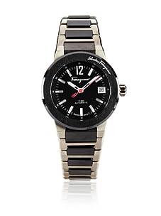 Salvatore Ferragamo Men's F-80 F-80 Black Stainless Steel Watch