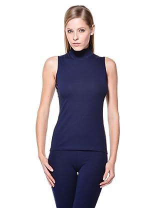 Cotonella Camiseta SM Cuello Alto (Azul)