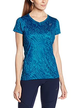 Asics T-Shirt Allover Graphic Top Ss