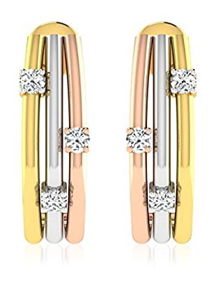 Friendly Diamonds Pendientes FDT12595Y Oro