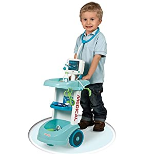 Smoby Medical Electronic Doctor Trolley Fob