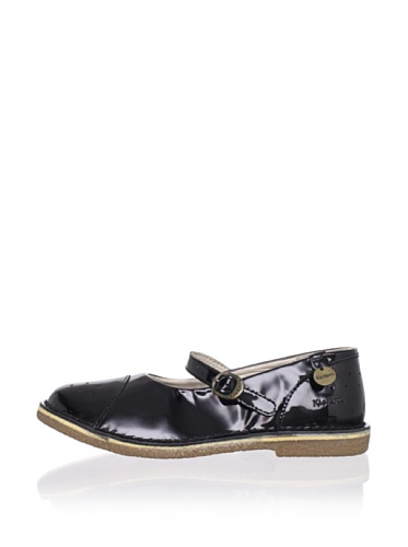 Kickers Kid's Fee Mary Jane (Toddler/Little Kid) (Varnish Patent Leather)