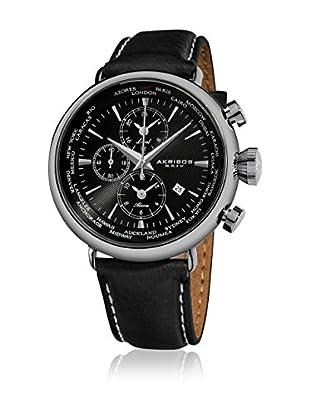 Akribos XXIV Reloj con movimiento cuarzo japonés Man AK629BK 46 mm