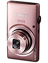 Canon IXUS 135 16MP Point and Shoot Digital Camera (Pink) with SDHC Card, Camera Case