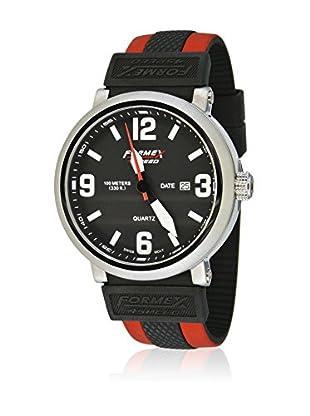 Formex 4 Speed Quarzuhr Ts725 schwarz/rot 46 mm