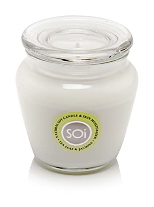 The SOi Company Tea Leaf and Jasmine 16-Oz. Candle in Keepsake Jar
