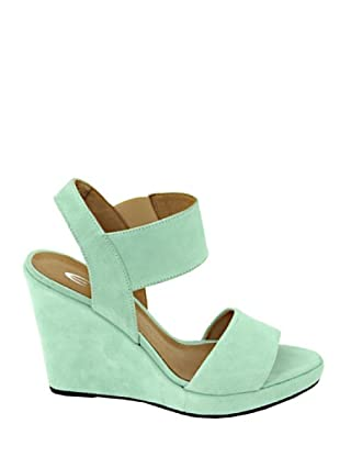Eye Shoes Sandalias (Verde Claro)