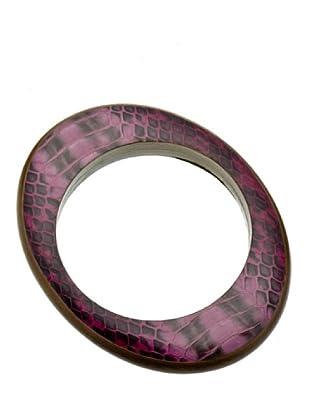Furla Pulsera Guggenheim ovalada violeta