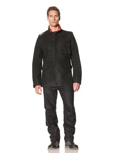 Maharishi Men's Official M65 Military Jacket (Charcoal)