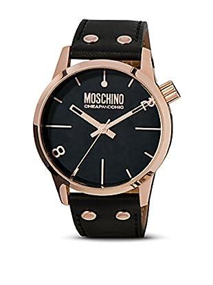 Moschino Uhr Xxl Moschino schwarz 46 mm