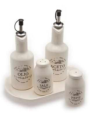 Tognana Set Olio/Aceto/Pepe/Sale Casa Dolce Casa