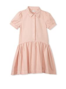 eggi kids Girl's Shirt Dress (Rose Cloud)