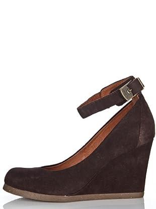 Scholl Zapatos Miral (Marrón Oscuro)