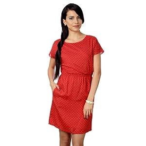 Polka Dots Short-Sleeved Dress