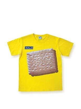Logoshirt Camiseta Easyfit eibniz (Amarillo)