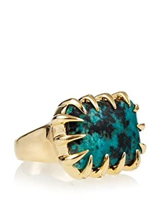 Isharya African Turquoise Claw Ring