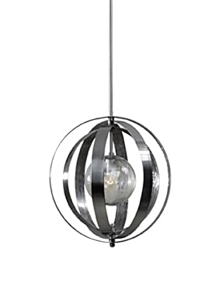 Uttermost Trofarello Single-Light Pendant Lamp (Silver)