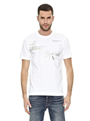 Mercedes Camiseta Fan Graphic (Blanco)