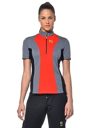 Sportful Camiseta Outdoor Dal Piaz (Antracita/Rojo)
