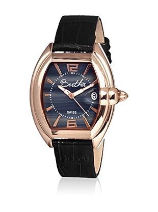 Bertha Uhr mit Schweizer Quarzuhrwerk Chloe schwarz 42 mm