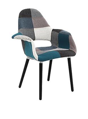Contemporary Wood Sessel Kaleidos-B